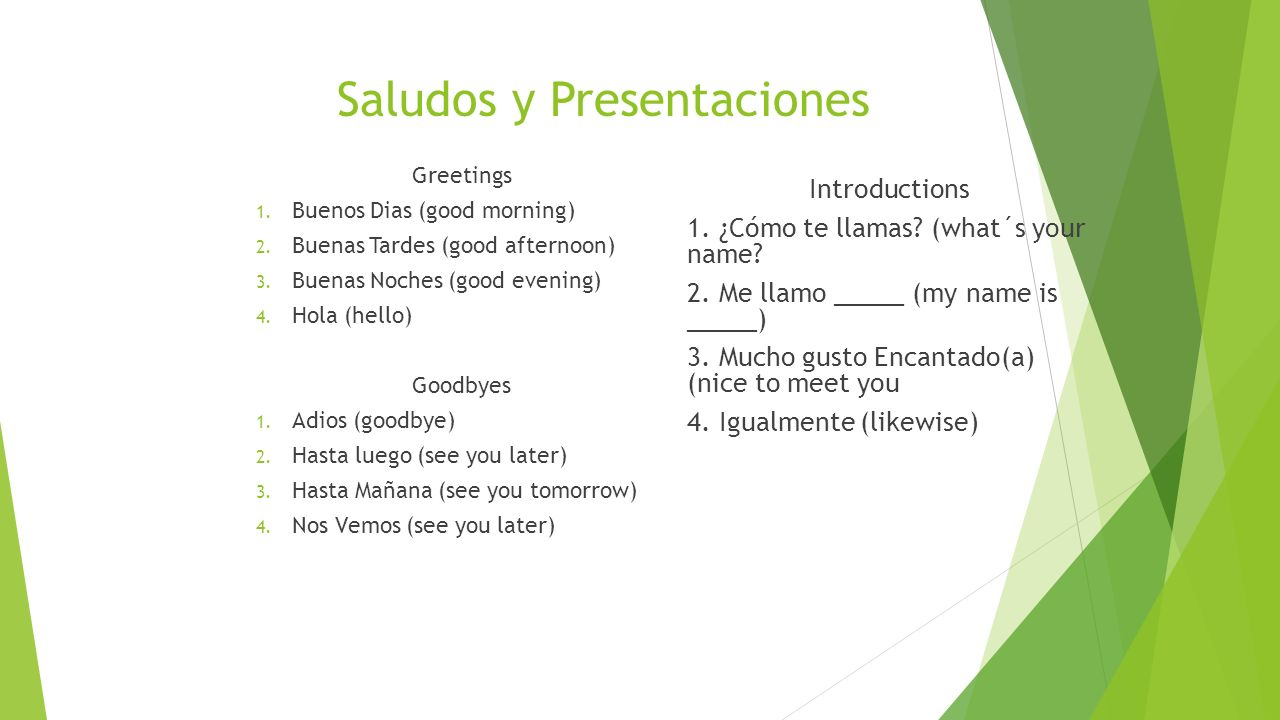 Tu y USTEd (Ud.) 1.We use tú when talking with peers 2.