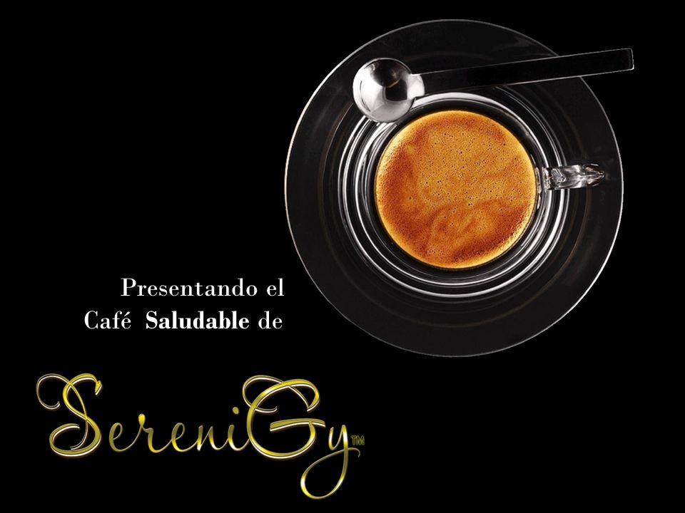 Saludable Presentando el Café Saludable de