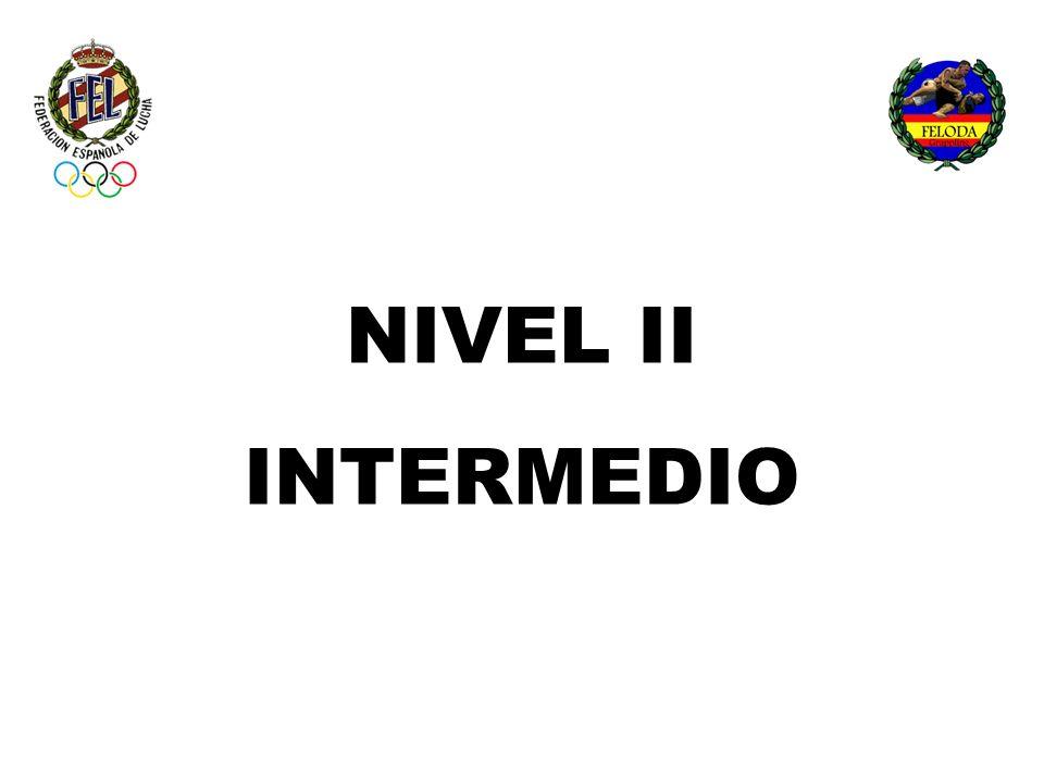 IMPARTIDO POR UN: MONITOR NACIONAL NIVEL I ENTRENADOR NACIONAL NIVEL II ENTRENADOR NACIONAL SUPERIOR NIVEL III
