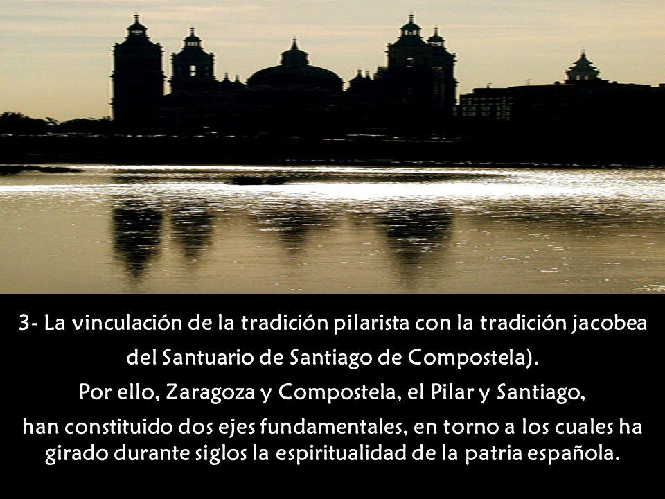 2- La Columna o Pilar que la misma Señora trajo para que, sobre él se construyera la primera capilla que, de hecho, sería el primer Templo Mariano de toda la Cristiandad.