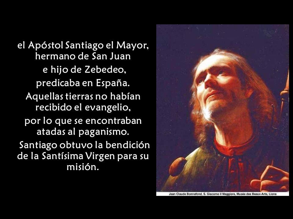La tradición, tal como ha surgido de unos documentos del siglo XIII que se conservan en la catedral de Zaragoza, se remonta a la época inmediata posterior a la Ascensión de Jesucristo, cuando los apóstoles, fortalecidos con el Espíritu Santo, predicaban el Evangelio.