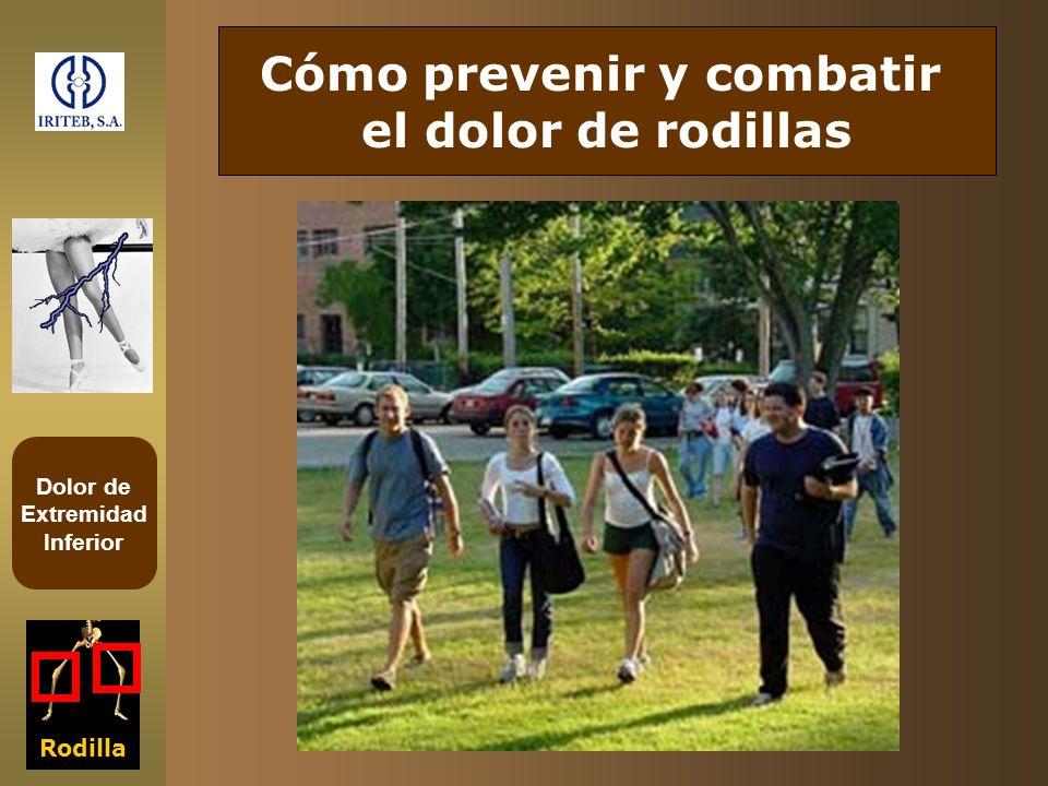 Dolor de Extremidad Inferior Rodilla Cómo prevenir y combatir el dolor de rodillas