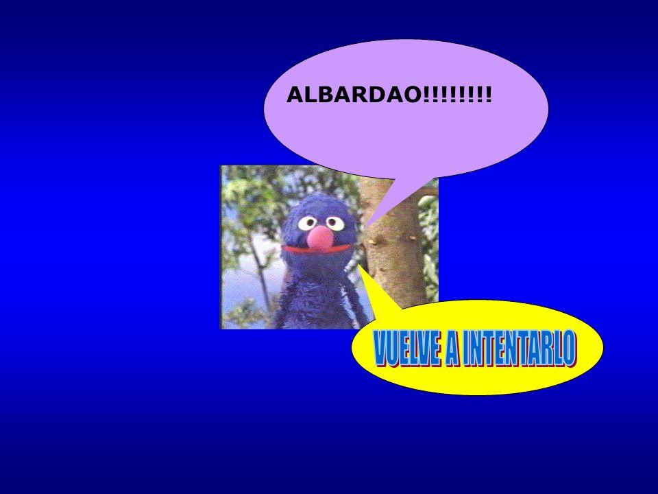 ALBARDAO!!!!!!!!