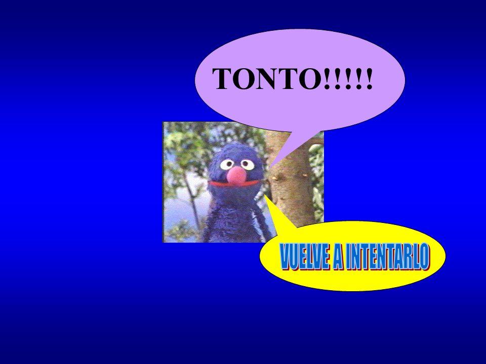 TONTO!!!!!