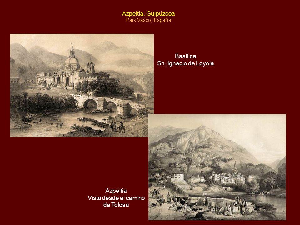 Biografía Íñigo López Sánchez, quien adoptaría el nombre de Ignacio, nació en 1491 en el castillo de Loyola junto a la aldea vasca llamada Azpeitia.