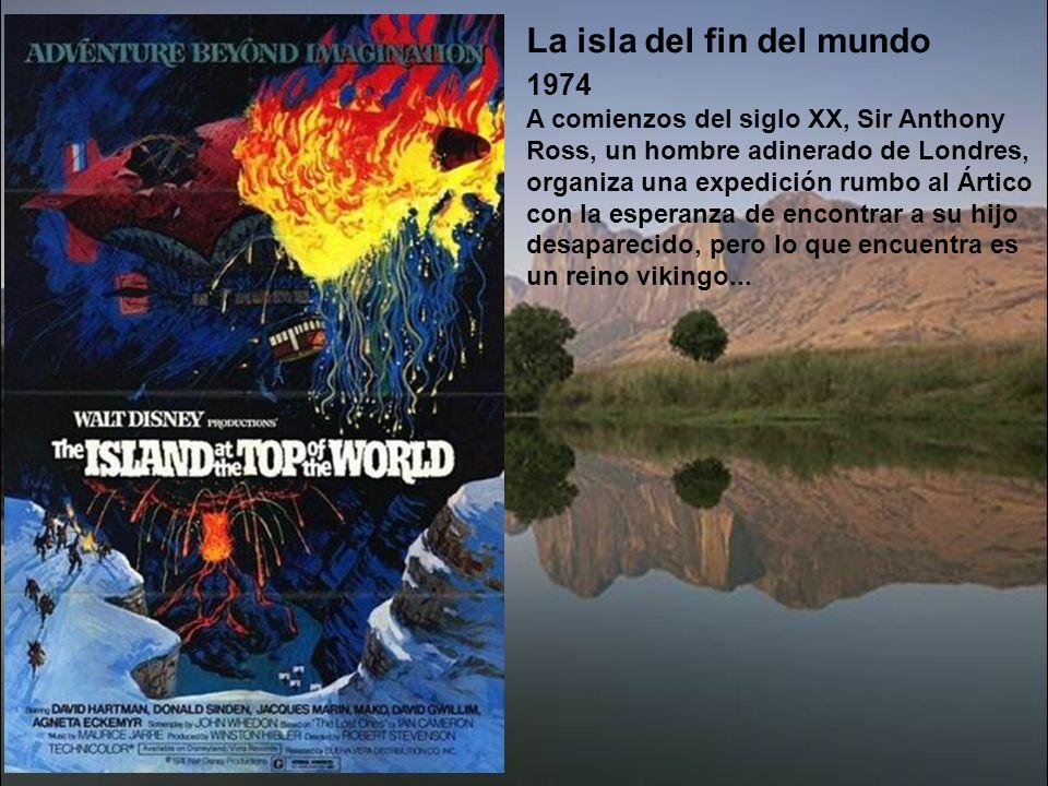 La luz del fin del mundo 1971 En el Cabo de Hornos, en 1865, unos piratas a las órdenes de Konge asaltan un faro situado en una isla rocosa y matan a