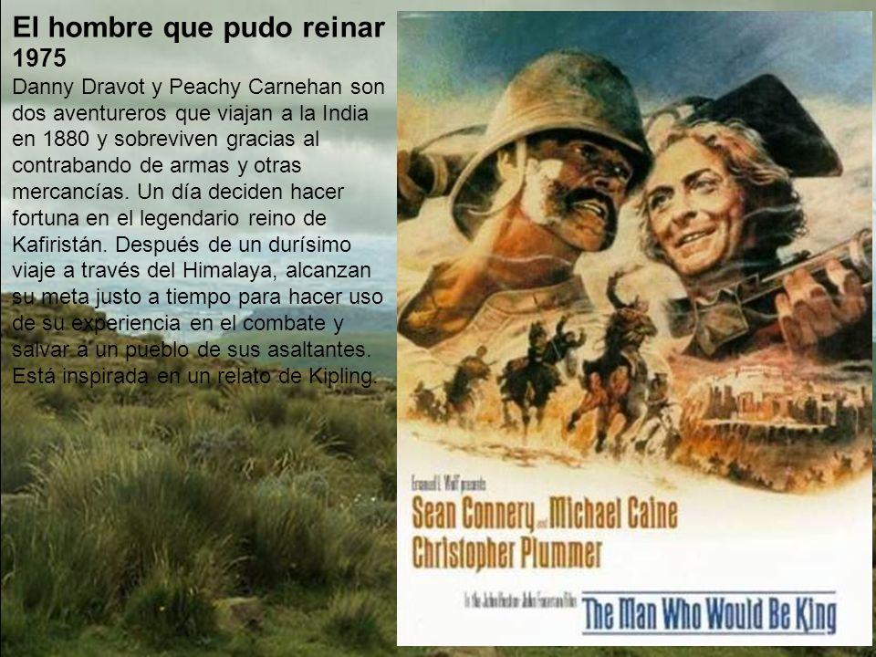 La isla del fin del mundo 1974 A comienzos del siglo XX, Sir Anthony Ross, un hombre adinerado de Londres, organiza una expedición rumbo al Ártico con