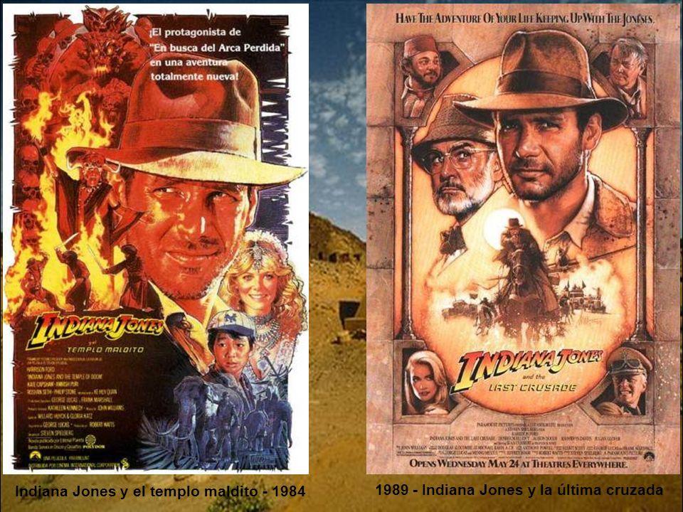 En busca del arca perdida - 1981 Indiana Jones 1ª entrega.- Año 1936. Indiana Jones es un profesor de arqueología, dispuesto a correr peligrosas avent