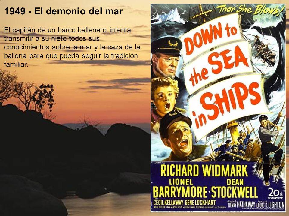 1942 - Piratas del mar Caribe En 1840 en los Cayos de Florida hay trabajo tanto para los honestos rescatadores (como los Claibornes) como para los pir
