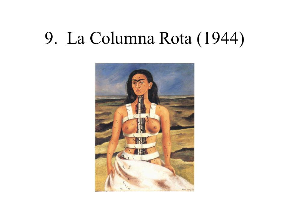 9. La Columna Rota (1944)