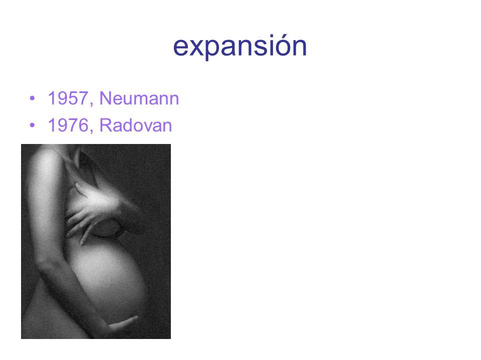 expansión 1957, Neumann 1976, Radovan