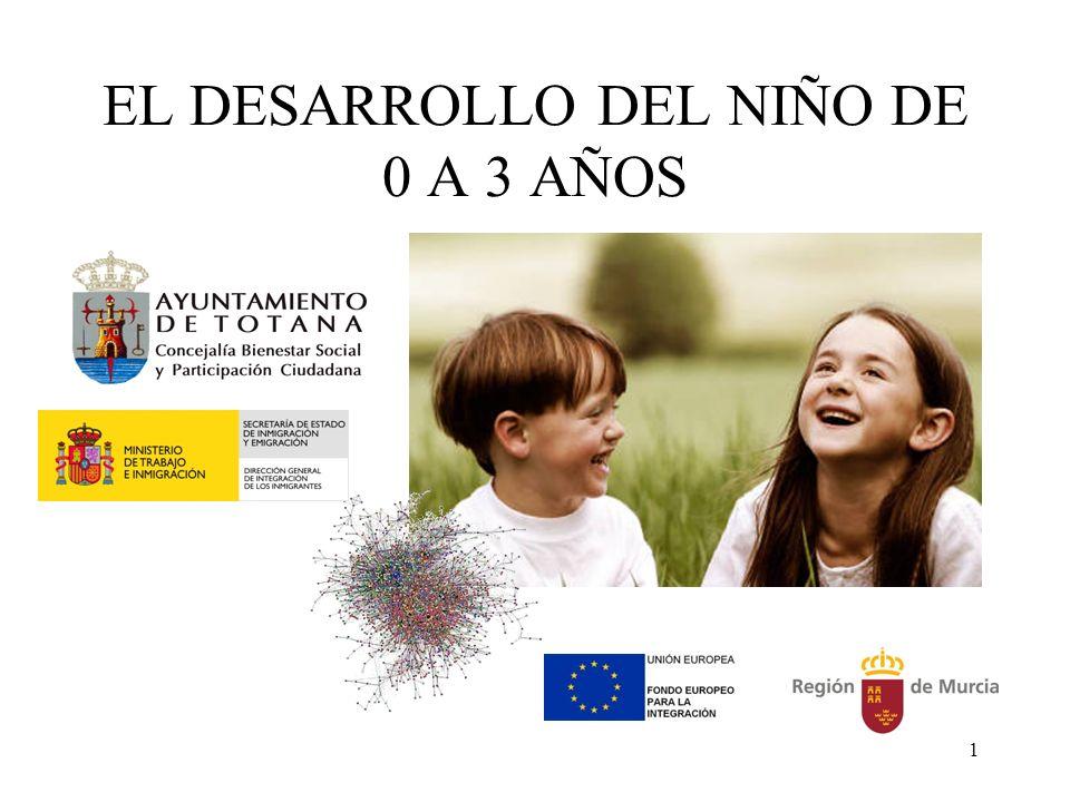 1 EL DESARROLLO DEL NIÑO DE 0 A 3 AÑOS