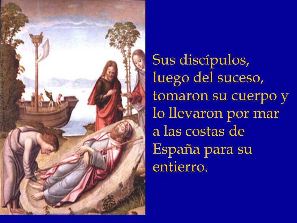 Santiago regresó a Jerusalén, después de predicar en España.