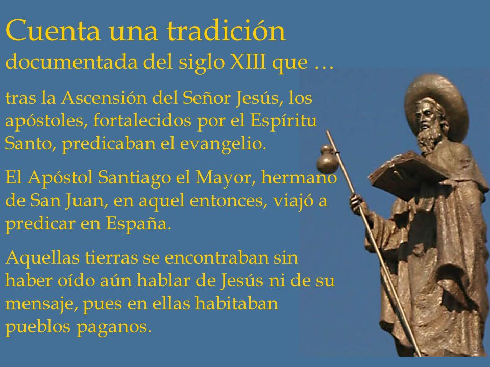 Santiago, historia y leyenda