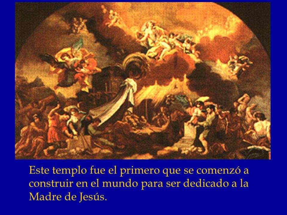 Cuando la Virgen desapareció quedó ahí el pilar; el apóstol Santiago y sus acompañantes iniciaron la edificación de la iglesia en aquel lugar.