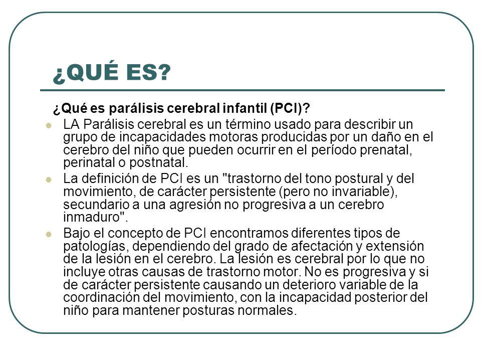 CAUSAS DE PARÁLISIS CEREBRAL INFANTIL Causas de la parálisis cerebral infantil.