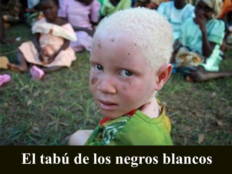 El tabú de los negros blancos