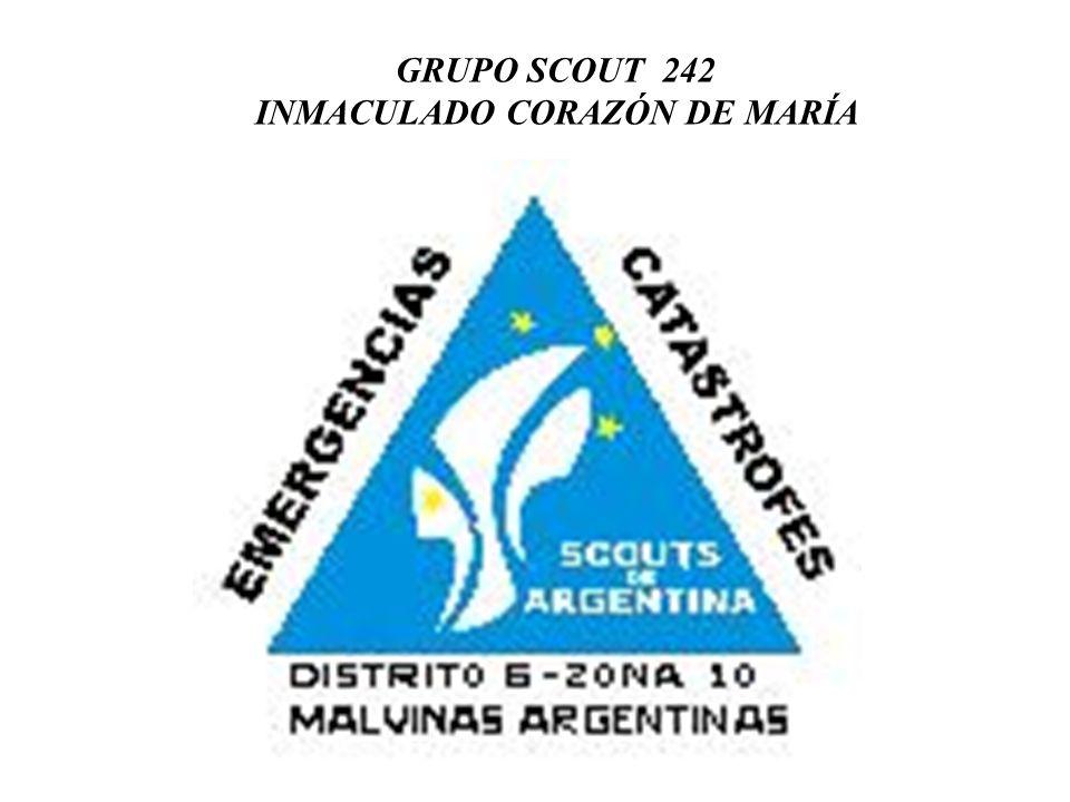 GRUPO SCOUT 242 INMACULADO CORAZÓN DE MARÍA