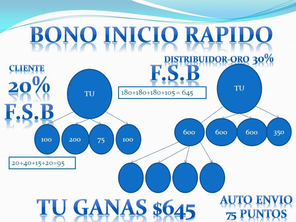 TU 10020075100 TU 600 350 600 180+180+180+105 = 645 20+40+15+20=95