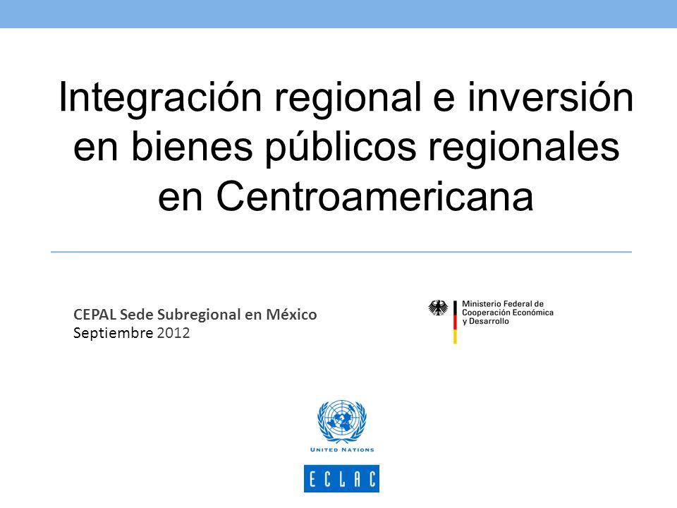 Implementación de políticas públicas (bienes públicos regionales) en el contexto de la integración social centroamericana Resultado concreto esperado