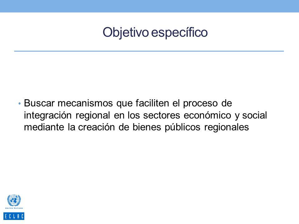 Marco Conceptual Propuestas en el marco de los bienes públicos.