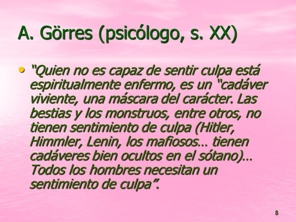 8 A.Görres (psicólogo, s.