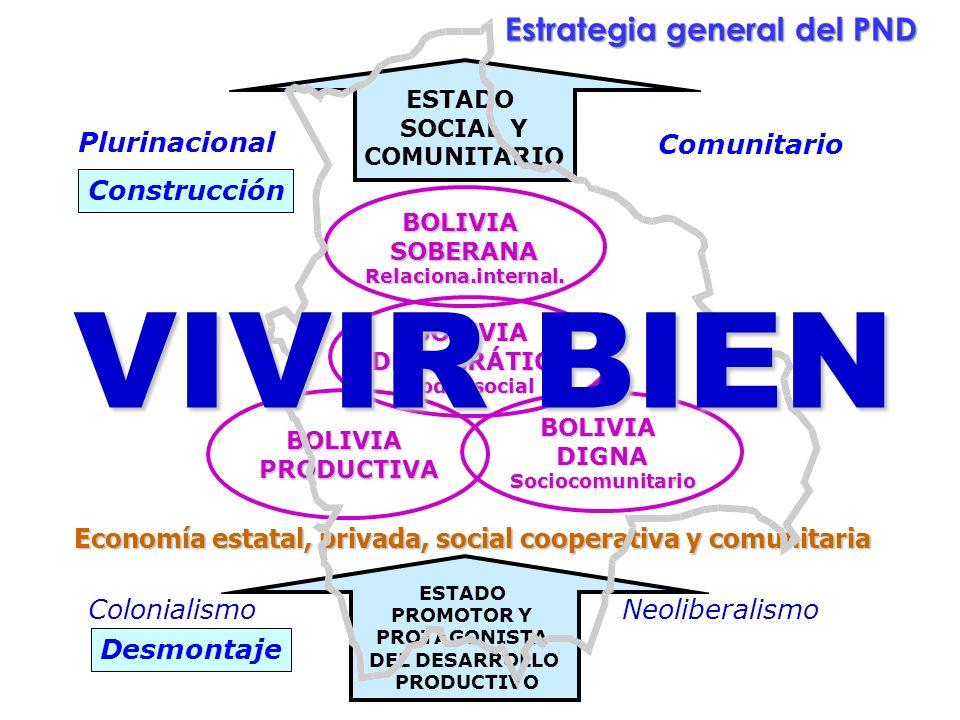 Ministerio de Planificación del Desarrollo Viceministerio de Planificación y Coordinación Construcción Plurinacional Comunitario Desmontaje Colonialis