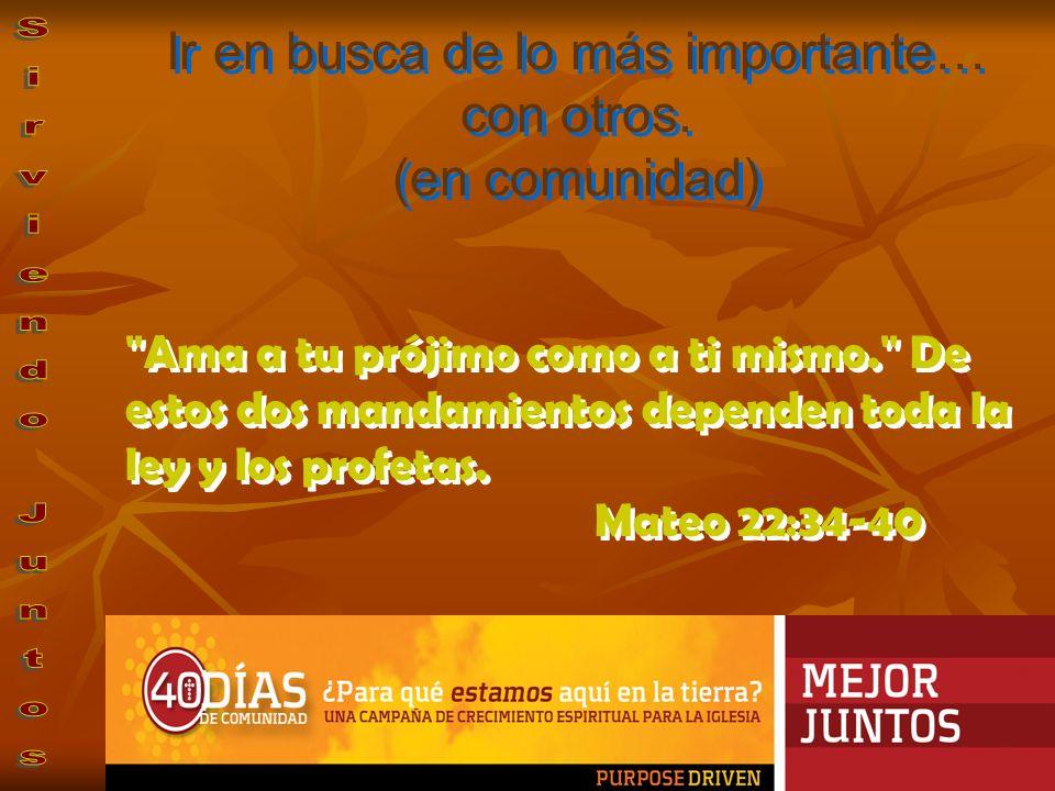 Ayúdense unos a otros a llevar sus cargas, y así cumplirán la ley de Cristo.