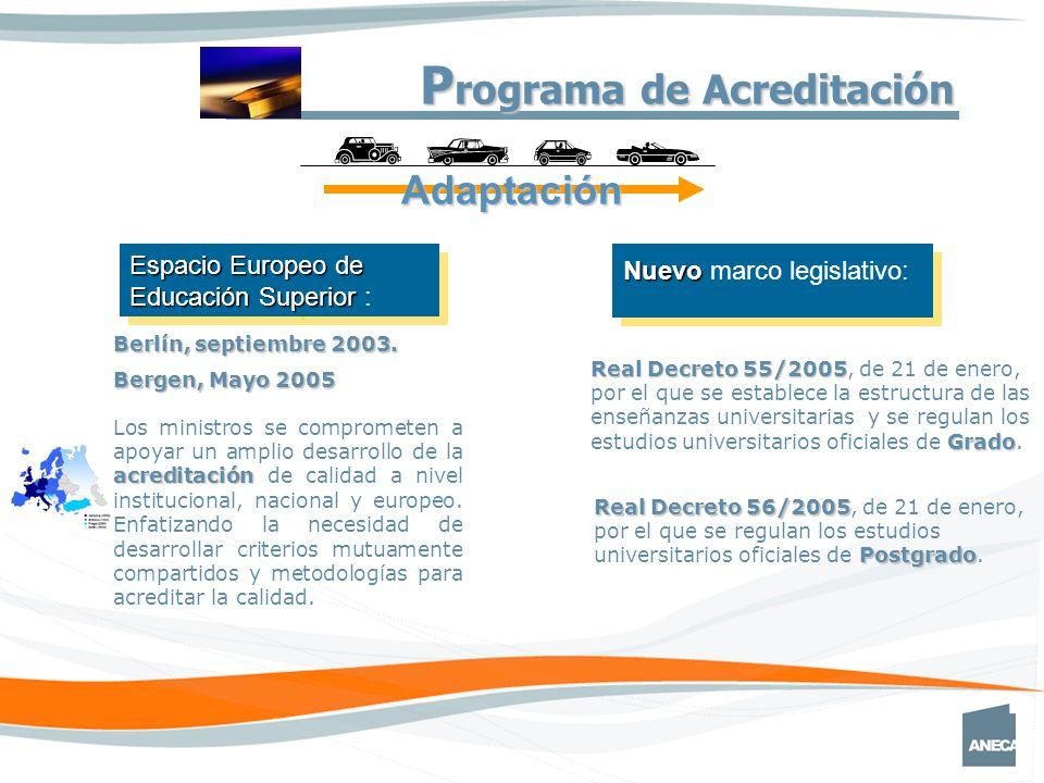 Real Decreto 55/2005 Grado Real Decreto 55/2005, de 21 de enero, por el que se establece la estructura de las enseñanzas universitarias y se regulan los estudios universitarios oficiales de Grado.