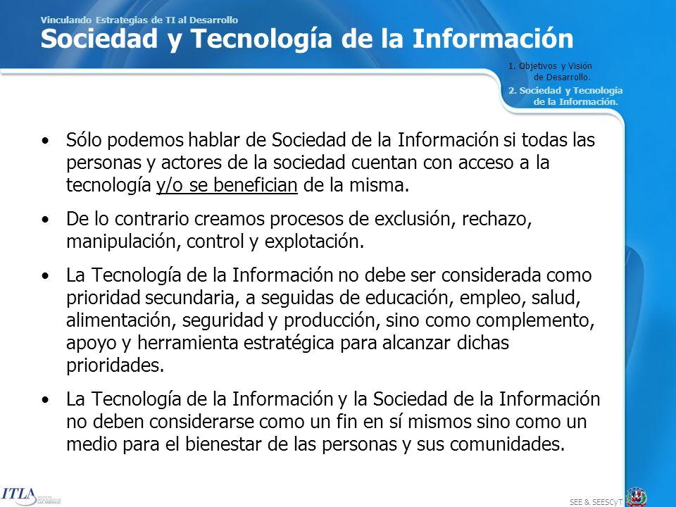 SEE & SEESCyT 16 Pasos para Formular una Estrategia de Tecnología de la Información 2.