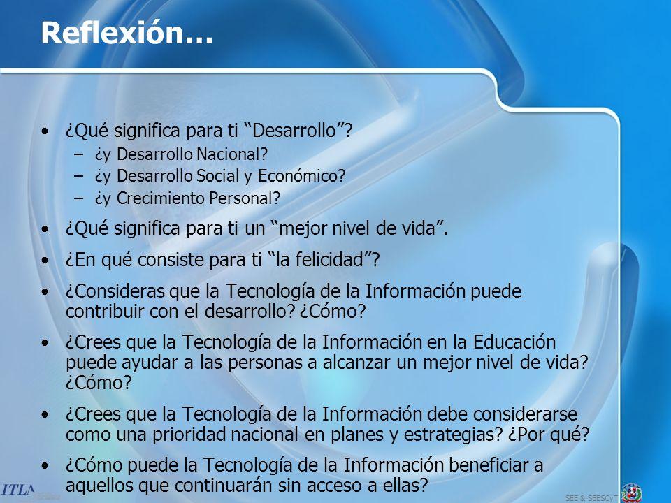 SEE & SEESCyT 16 Pasos para Formular una Estrategia de Tecnología de la Información 10.