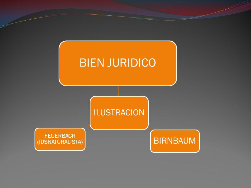 ILUSTRACION BIEN JURIDICO BIRNBAUM FEUERBACH (IUSNATURALISTA)