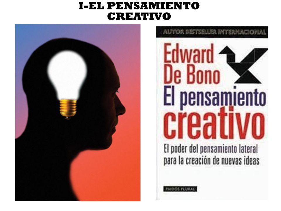I-EL PENSAMIENTO CREATIVO