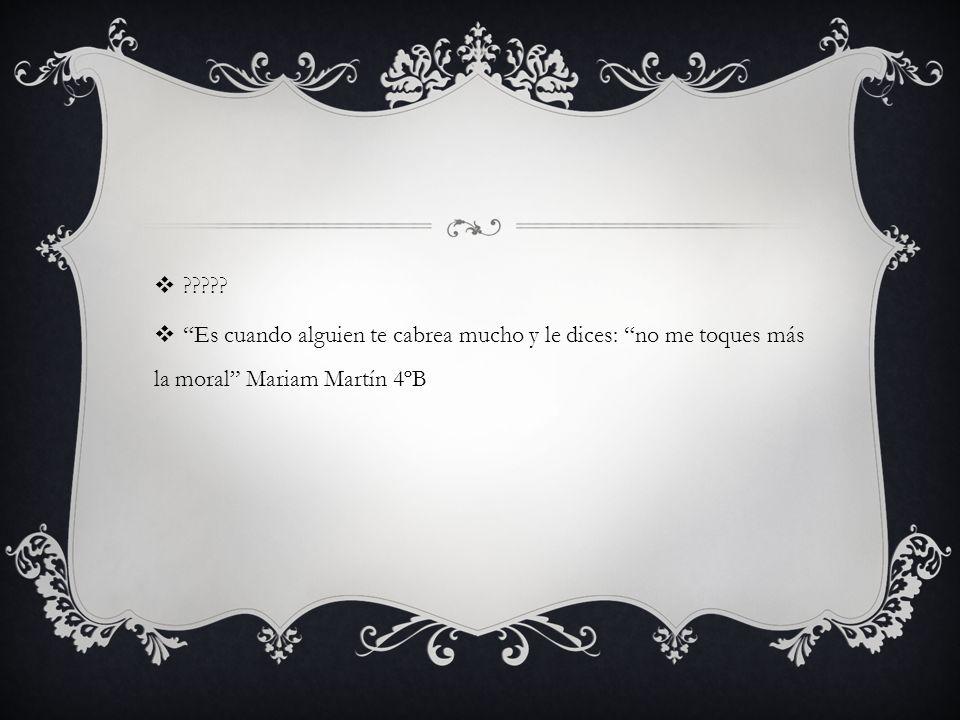 No, porque lo que para unos está bien, para otros está mal Carmen Robles, Helena Gómez 4ºA Es complicado, porque lo que para unos está bien, para otros está mal, aunque hay cosas que son indefendibles, como matar a alguien.