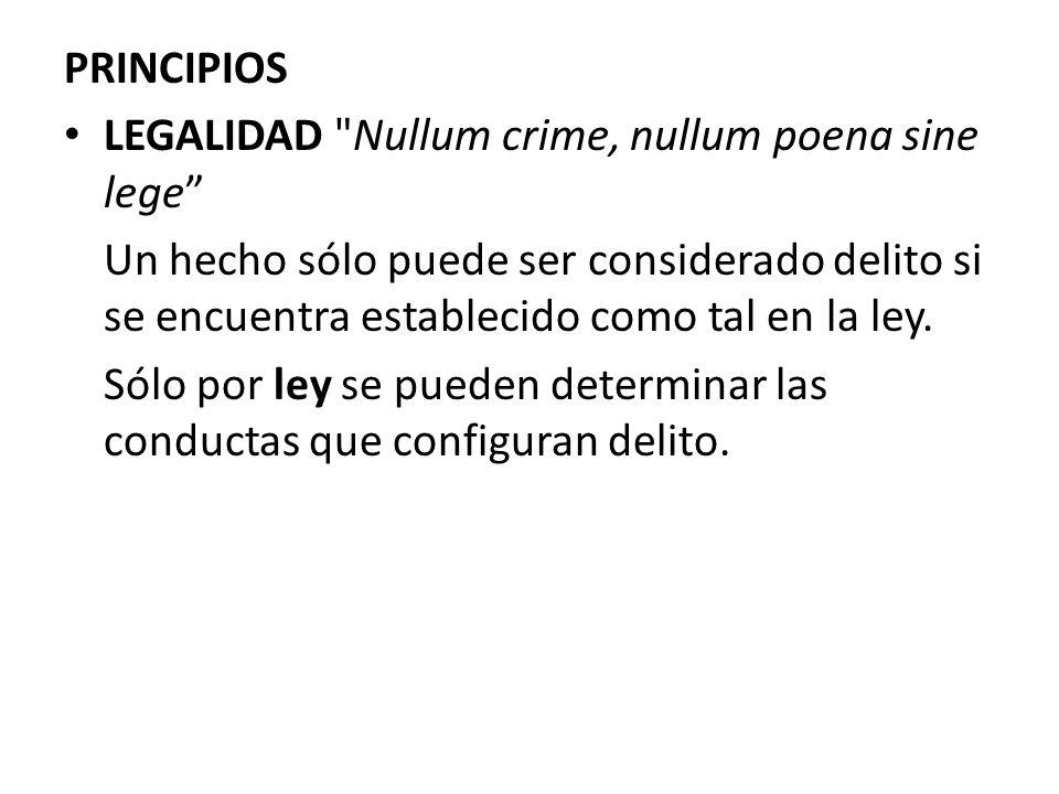 PRINCIPIOS LEGALIDAD
