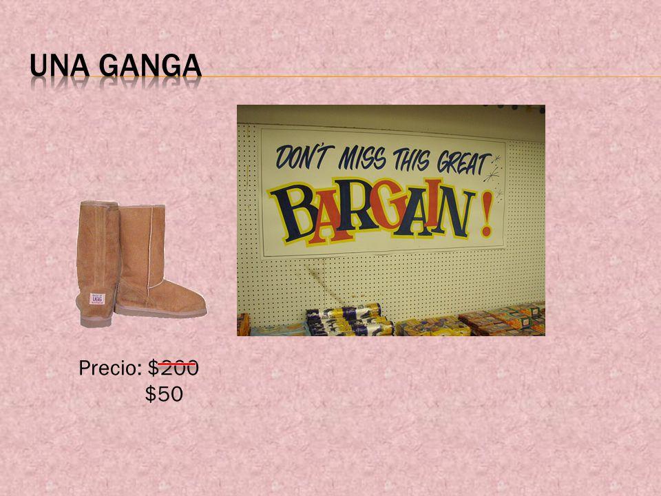 Precio: $200 $50