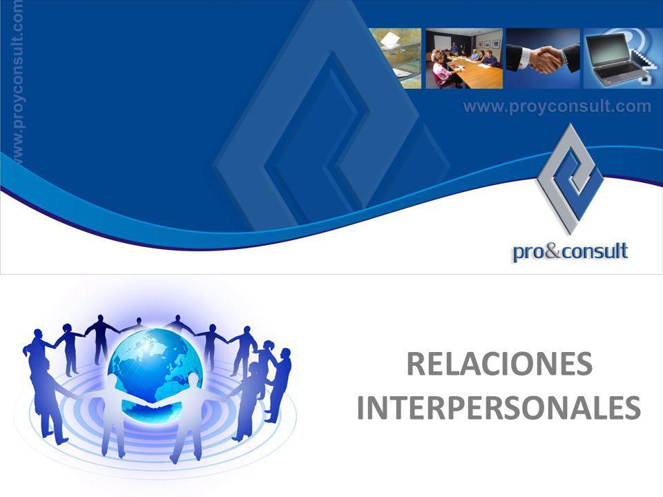 ¿ Quiénes Somos ? RELACIONES INTERPERSONALES
