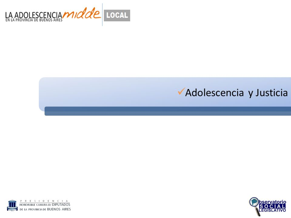 Adolescencia y Justicia