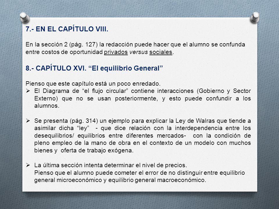 7.- EN EL CAPÍTULO VIII. En la sección 2 (pág.