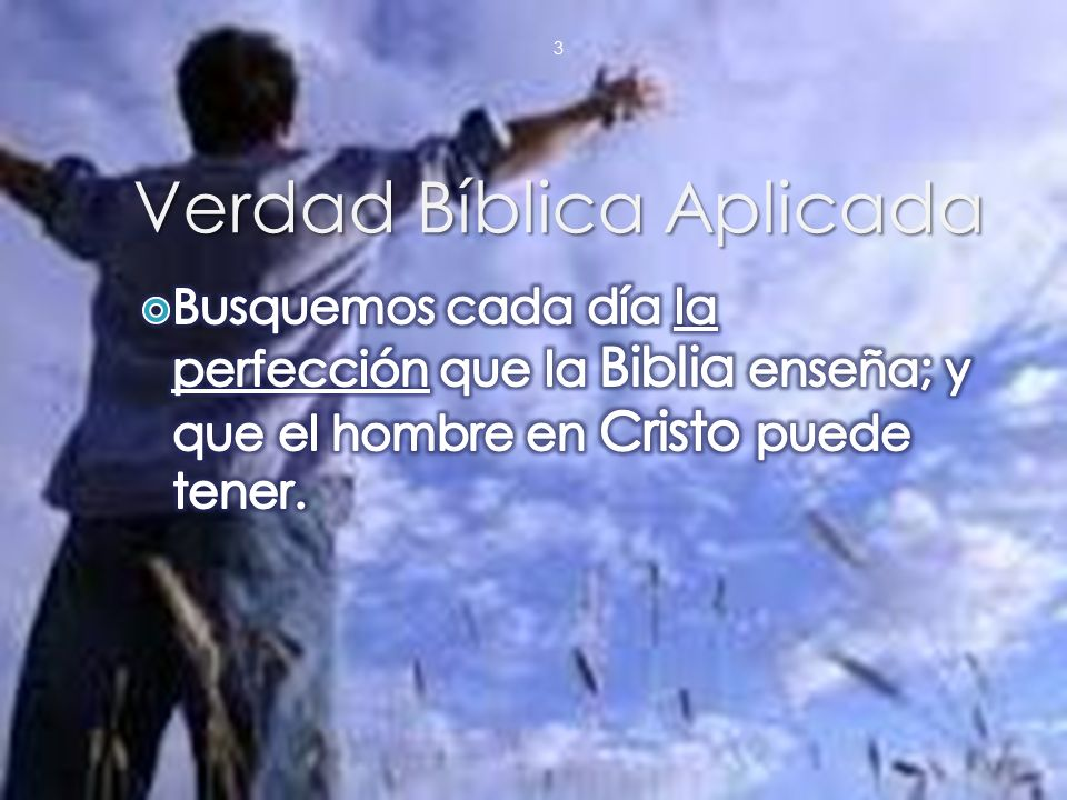 Verdad Bíblica Aplicada 3