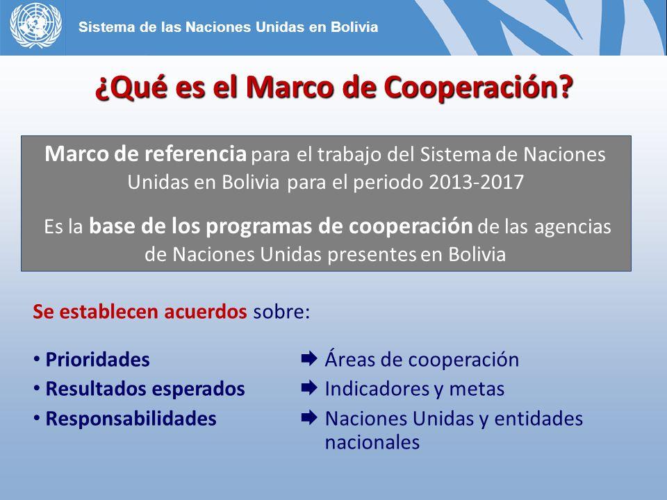 ¿Sobre qué orientaciones se ha definido el nuevo Marco de Cooperación.