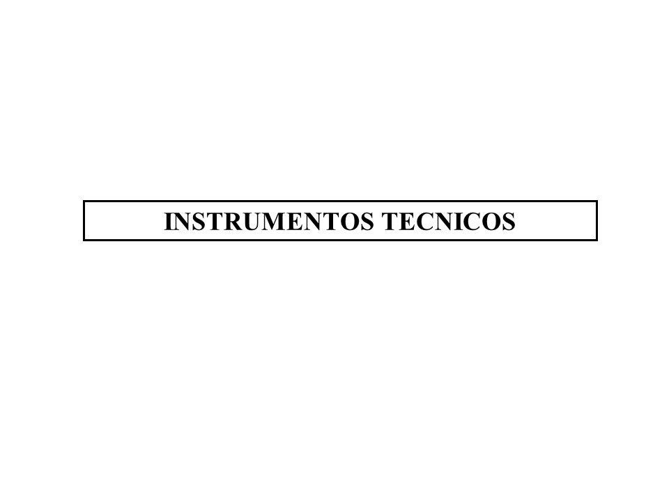 INSTRUMENTOS TECNICOS
