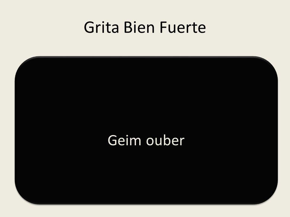 Grita Bien Fuerte AGUANTE TBY+ EN: 0 AGUANTE TBY+ EN: 0