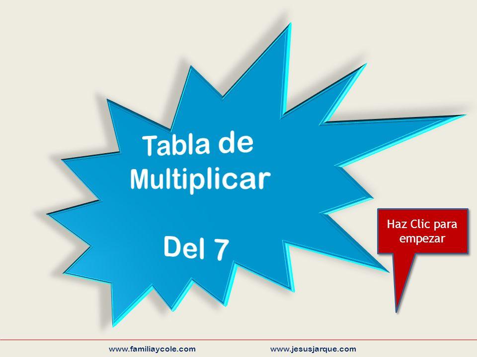www.familiaycole.com www.jesusjarque.com Haz Clic para empezar