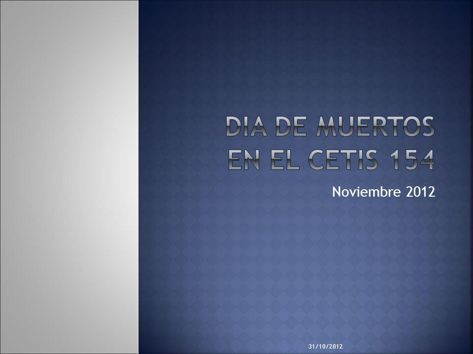 31/10/2012 Noviembre 2012