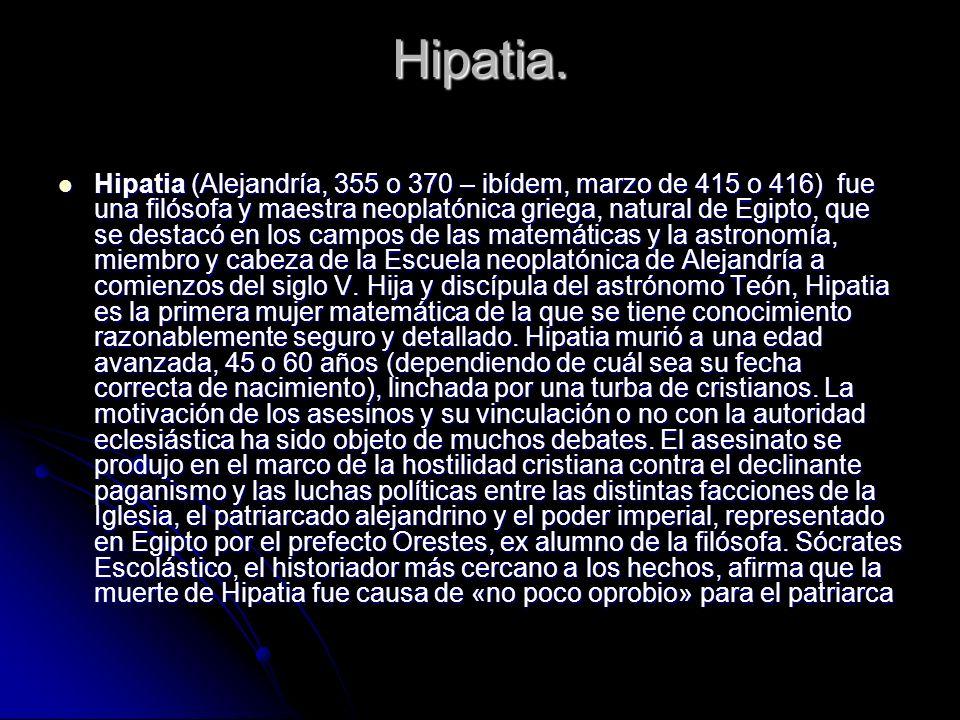 Hipatia.
