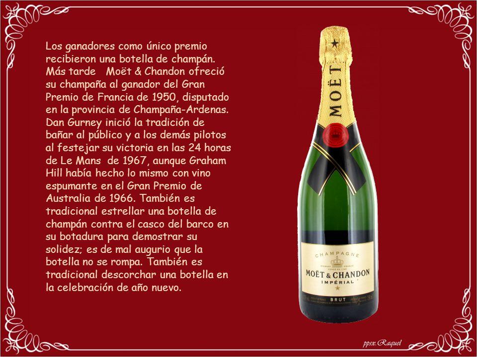 Los ganadores como único premio recibieron una botella de champán.