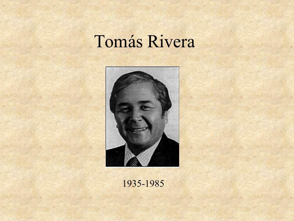 Tomás Rivera 1935-1985