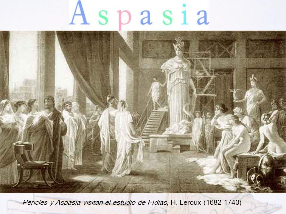 Aspasia de Mileto fue la mujer más importante en la Atenas del siglo V aC. Estuvo unida sentimentalmente a Pericles (líder de la democracia ateniense)