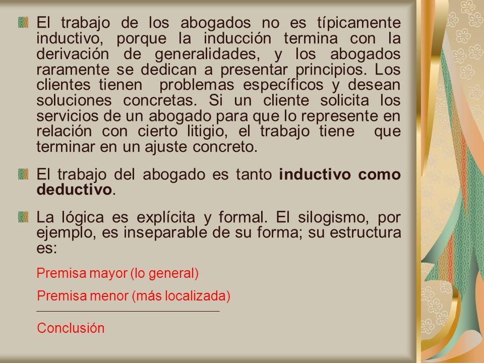Un ejemplo de Silogismo Hipotético Puro: Si un marido es un borracho consuetudinario, entonces su esposa tiene base legal para solicitar el divorcio.